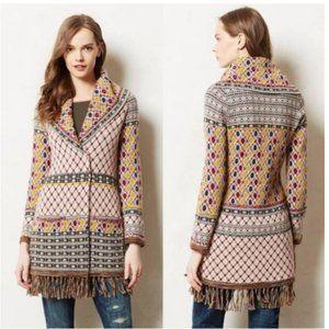 Anthro Angel North Satpura Cardigan Sweater Coat